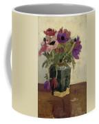 Ginger Pot With Anemones, George Hendrik Breitner, Ca. 1900 - Ca. 1923 Coffee Mug