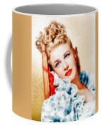 Ginger Rogers By John Springfield Coffee Mug
