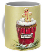 Gingerbread Cookie Cupcake Coffee Mug