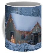 Gingerbread House In Snow Coffee Mug