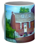 Gingerbread House Coffee Mug by Sheila Mashaw