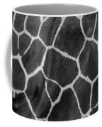 Giraffe Black And White Coffee Mug