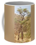Giraffe Camouflage Coffee Mug