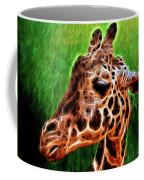 Giraffe Fractal Coffee Mug
