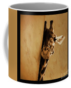 Giraffe Hiding  Coffee Mug