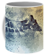 Giraffe Poly Coffee Mug