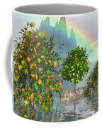 Giraffe Rainbow Heaven Coffee Mug