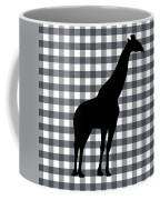 Giraffe Silhouette Coffee Mug