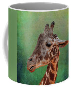 Giraffe Square Painted Coffee Mug