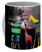 Giraffes In A Sunset Coffee Mug