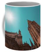 La Giralda Bell Tower Brilliantly Lit In Teal And Orange Coffee Mug
