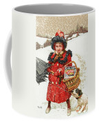 Girl And Dog In Ad For Sunlight Soap Coffee Mug