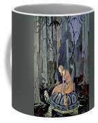 Girl And Turtle Coffee Mug