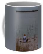 Girl At Beach Coffee Mug