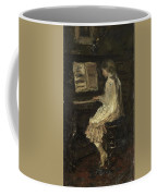 Girl At The Piano Coffee Mug