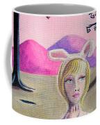 Girl Bunny  Coffee Mug