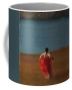 Girl By River-iii Coffee Mug