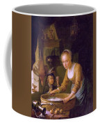 Girl Chopping Onions Coffee Mug