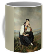 Girl From Hessen In Traditional Dress Coffee Mug
