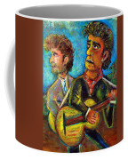 Girl From North Country Johnny Cash And Bob Dylab Coffee Mug