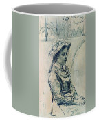 Girl Hell 1882 Ilya Repin Coffee Mug