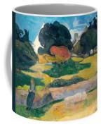 Girl Herding Pigs Coffee Mug by Paul Gauguin