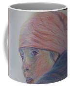 Girl In A Bandana Coffee Mug
