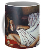 Girl In A Red Chair Coffee Mug