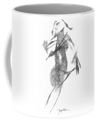 Girl, In Abstract Coffee Mug