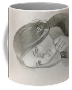 Girl In Deep Thoughts Coffee Mug