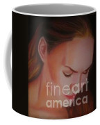 Girl In Prayer Coffee Mug
