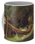 Girl In The Hammock Coffee Mug by Winslow Homer
