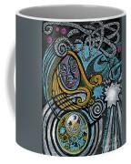 Girl In The Moon Coffee Mug