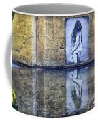 Girl In The Mural Coffee Mug