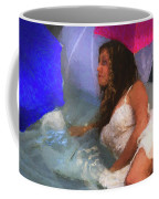 Girl In The Pool 1 Coffee Mug