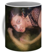 Girl In The Pool 13 Coffee Mug