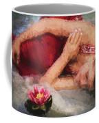 Girl In The Pool 2 Coffee Mug