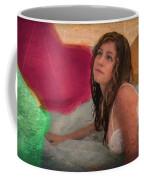 Girl In The Pool 4 Coffee Mug
