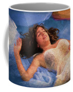 Girl In The Pool 5 Coffee Mug