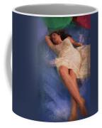 Girl In The Pool 6 Coffee Mug