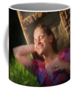 Girl In The Pool 9 Coffee Mug