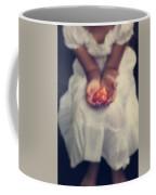 Girl Is Holding A Heart Coffee Mug by Joana Kruse