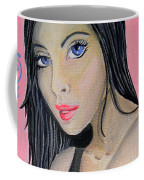 Girl Mysterious Coffee Mug