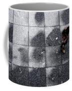 Girl On A Grid Coffee Mug