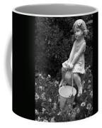 Girl On A Mushroom Coffee Mug