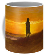 Girl On The Dunes Coffee Mug by Jack Skinner