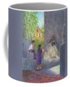 Girl Reading A Letter Coffee Mug