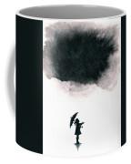 Girl Waiting For Rain Coffee Mug