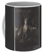 Girl With A Candle Coffee Mug