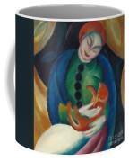 Girl With A Cat II Coffee Mug